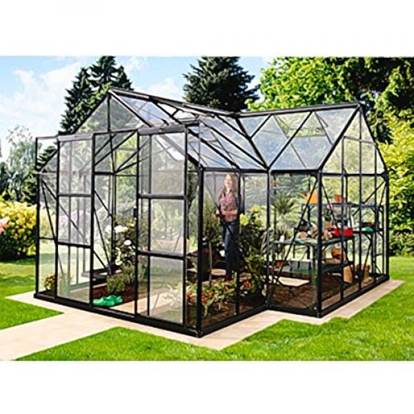 alu gew chshaus sirius esg schwarz wintergarten 13 m. Black Bedroom Furniture Sets. Home Design Ideas
