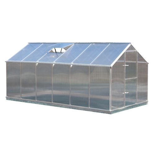 aluminium gewaechshaus: