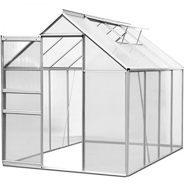 gew chshaus aluminium 4 75 m 250 x 190 cm treibhaus. Black Bedroom Furniture Sets. Home Design Ideas